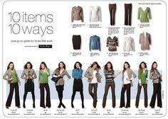 Ricki's, 10 items 10 ways.