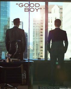 Suits - Harvey Specter and Mike Ross / Gabriel Macht and Patrick J. Adams