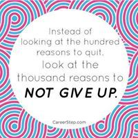 If you're feeling like throwing in the towel this week, remember how far you have come!