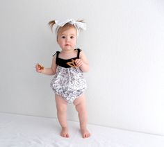 Check out this item in my Etsy shop https://www.etsy.com/listing/230486065/black-floral-sun-suit-baby-play-suit