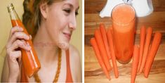 view point: She Was Drinking Carrot Juice Every Morning For 8 ...