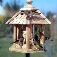Mangeoire oiseaux pour graines kiosque - Gazebo Junior