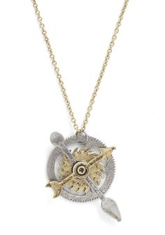 Cog and Effect Necklace | Mod Retro Vintage Necklaces | ModCloth.com