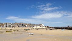 St Ives, Cornwall on a sunny day.