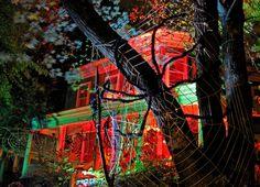 AMAZING halloween lighting!