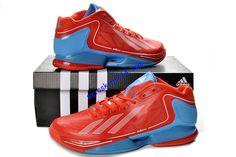 new product c7178 bafa1 Adizero Crazy Light 2 Low Max Orange Adidas Blue Glow G59168 Derrick Rose  Shoes 2013  65.87