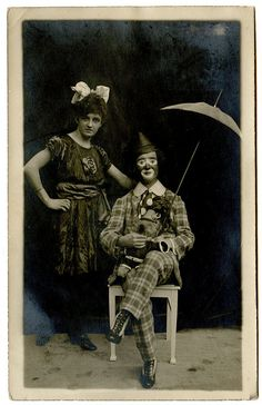 vintage everyday: Vintage Photos of Circus Performers from 1890s-1910s