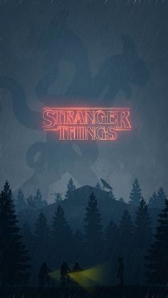 Risultati immagini per stranger things phone wallpaper