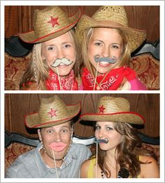 Western Photo Booth Ideas