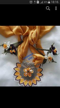 Long Silver Hair, Peta, Needlework, Diy And Crafts, Jewelery, Beaded Necklace, Brooch, Crafty, Crochet