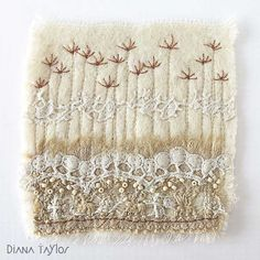 Velvet Moth Studio: Winter Embroideries and WOYWW #345