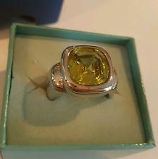 Pierre Lang Ring Gr.8 mit Grünem stein