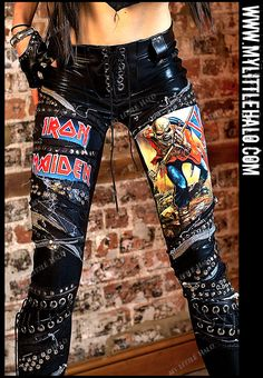 Iron Maiden Heavy Metal Trooper Pants (SIZE 8/10/12) - My Little Halo