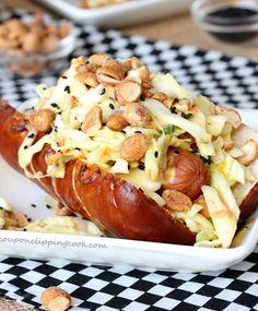 Honey Mustard Slaw Dog Recipe - RecipeChart.com