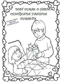 282 En Iyi Boyama Sayfaları Görüntüsü Kindergarten Activities Ve
