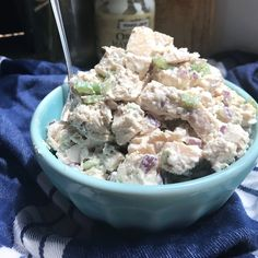 My own Keto Chicken Salad! All the ingredients are less processed and contain no added sweeteners, but it ...