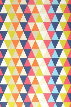 Kaleidoscope | Carta da parati degli anni 70