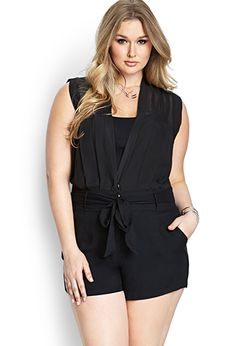 UGGGHHHHHH I want it I want it I want it! I felt like a boss when I tried this romper on!