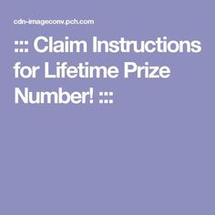 ::: Claim Instructions for Lifetime Prize Number! :::I christina King claim WINNER publishers clearing House accept my Prize3 and giveaway for lifetime thank you very much I appreciate the opportunity for the money's worth ten million dollars thank you