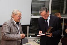 12.11.2013 Wirtschaftstreffen Dr. Danilo Türk, ehemaliger Präsident Sloweniens Mag. Christian Wehrschütz, ORF
