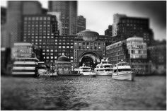 Boston Harbor Hotel ... A view from the harbor walk.