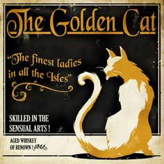 Dishonored In-game Art - Advertisement - The Golden Cat