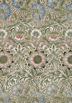 - Corncockle 1883 William Morris/Morris & Co. patterns.