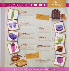 Promo Buy 2 Get 1 Free Tulipware   Januari - Februari 2014