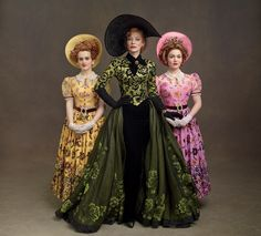 "The evil stepsisters and stepmother are meant to be ""a bit too much,"" says Powell. - Photo: Courtesy of Disney Studios"