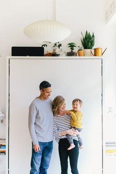 Alison, Trevor and a Baby in 600 Square Feet