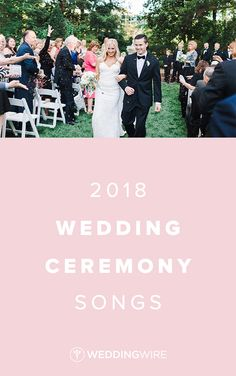 2018 Wedding Ceremony Songs  - Searching for the songs for your wedding? From prelude to postlude to every moment in between, find your ceremony songs on WeddingWire! {b. flint photography}