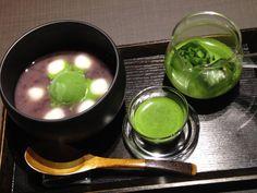 茶寮 翠泉 地図:  http://www.mapion.co.jp/m/34.99681667_135.7644_9/  #maccha