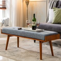 Found it at AllModern - Aysel Upholstered Bedroom Bench