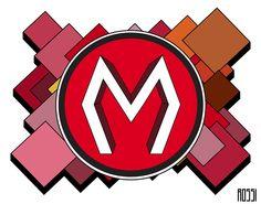 """""""M"""" logo design"""