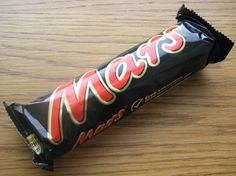 Mars Bar. From personal experience this is one of the best things to take with you when climbing mountains. It is a source of almost instant energy. And it's mmm...