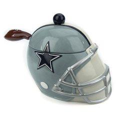 Dallas Cowboys Ceramic Soup Tureen