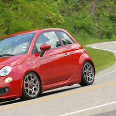 Fiat 500 on the Tail of the Dragon: Want to do this with Joey!! :D