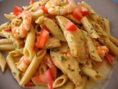 Cajun Chicken and Shrimp Pasta (just like TGIF recipe)