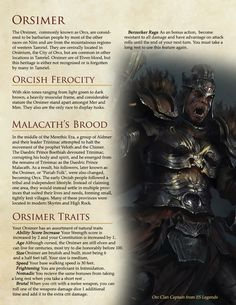Post with 259 votes and 9649 views. Tagged with skyrim, elderscrolls, homebrew, dungeonsanddragons; Shared by The Elder Scrolls Races in DnD Version 2 The Elder Scrolls, Elder Scrolls Races, Elder Scrolls V Skyrim, Elder Scrolls Online Guide, Dungeons And Dragons Races, Dungeons And Dragons Classes, Dungeons And Dragons Homebrew, Skyrim Races, Skyrim Lore