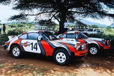 Porsche 911 SC Rallye East African Safari 1978