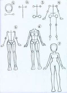 Manga Drawing Techniques How to draw Female Anime Body by ~ariSemutz on deviantART - Body Drawing Tutorial, Body Tutorial, Sketches Tutorial, Body Sketches, Art Drawings Sketches, Pencil Drawings, Horse Drawings, Pencil Art, Art Reference Poses