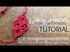 Pulseira macrame Blue Sun/tutorial passo a passo/By criativa e natural - YouTube
