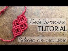 Pulseira macrame Blue Sun/tutorial passo a passo/By criativa e natural - YouTube