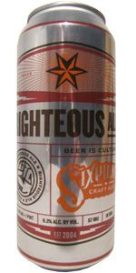 Righteous Ale - Sixpoint Brewery, NY, Rye Beer, 6.4%