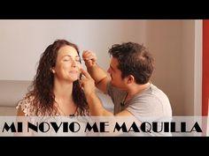 MY BOYFRIEND DOES MY MAKEUP | MI NOVIO ME MAQUILLA | BloGllero & LucyLook