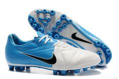 1b7317e31 Nike CTR360 Libretto II AG Mens Artificial Grass Soccer Cleats(White Blue  Black) Cheap
