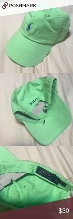 Polo hat Polo hat. Lime. One size. New! Polo by Ralph Lauren Accessories Hats