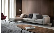 45 Awesome Modern Sofa Design Ideas - Page 30 of 45 - SooPush Home Decor Furniture, Sofa Furniture, Furniture Design, Living Room Sofa, Living Room Decor, Corner Sofa Design, Modern Sofa Designs, Comfortable Living Rooms, Living Comedor
