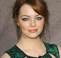 Emma Stone - grapeseed oil and burt's bees repairing serum as the key to her complexion