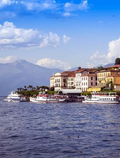 Bellagio and the Famous Como Lake - Italy